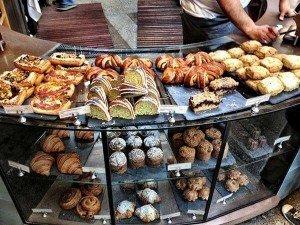 cafe pastries & snacks