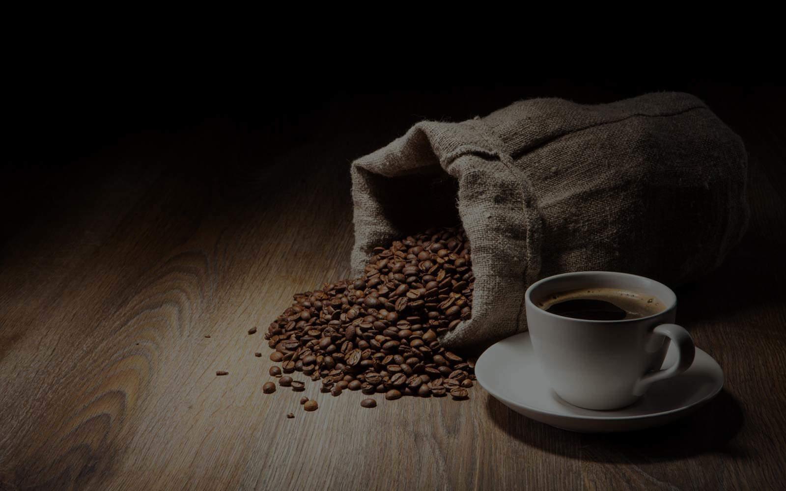 espresso cup beans