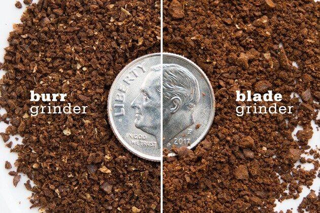 Burr vs Blade grinder