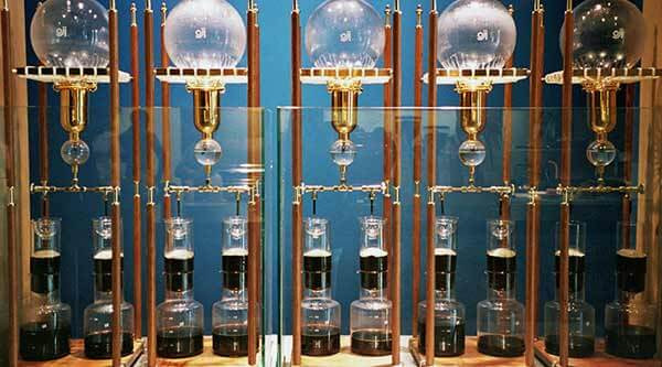 The siphon bar blue bottle
