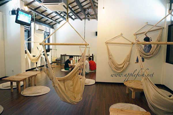 The Hammock Café in Penang