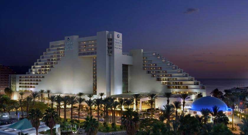 Royal Beach Hotel in Eilat