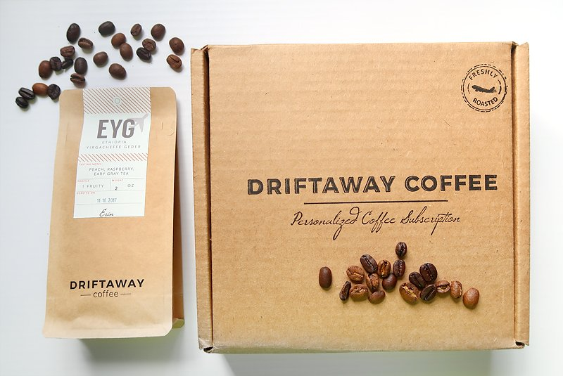 Driftaway coffee box subscription