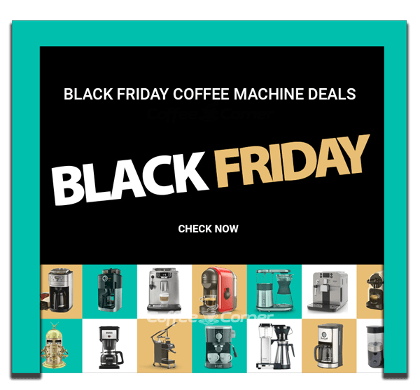 Black Friday deals coffee machine