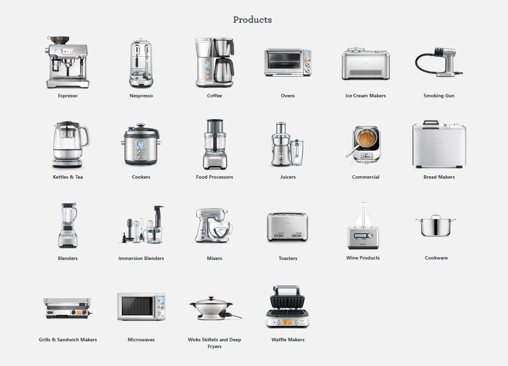 All Breville Products