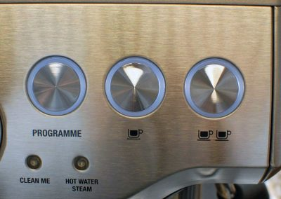 Breville-BES870XL Dispense buttons