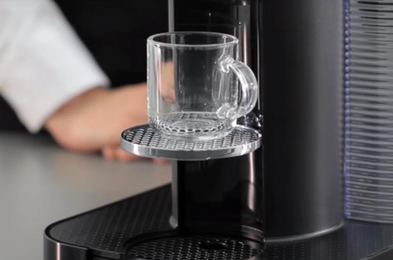 Nespresso VertuoLine cup height